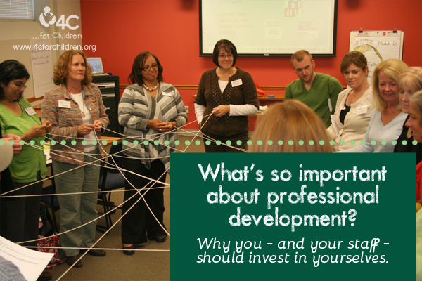 Professional development is a modest investment that pays off in a big way!