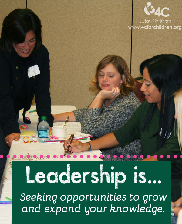 Grow and expand your knowledge at the 4C Leadership Conference