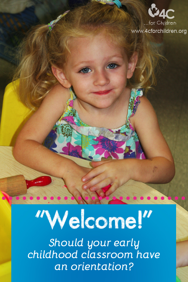 Should you have a classroom orientation for your early childhood classroom?