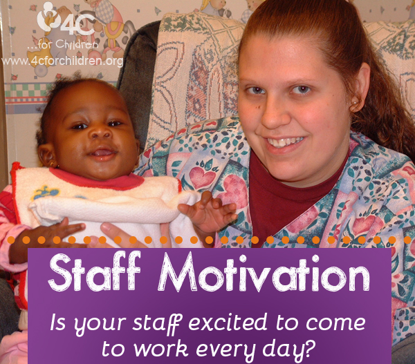 How can ECE staff stay motivated and excited to come to work?