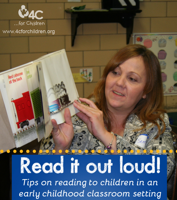 5 Tips for reading aloud in your early childhood classroom
