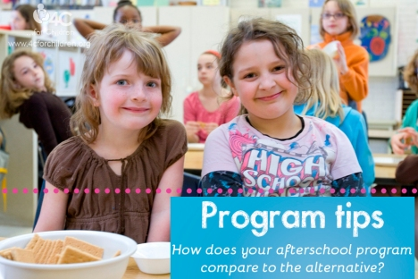 Afterschool program tips