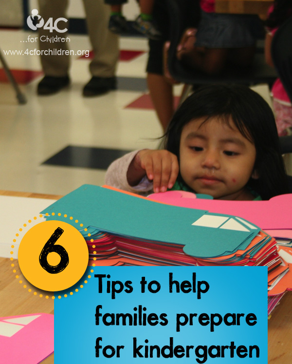 Help the children in your care prepare for kindergarten!