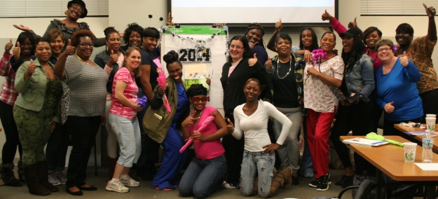 Motivation kept these hard-working ECE professionals on track to work toward their CDA credential! What motivates you?