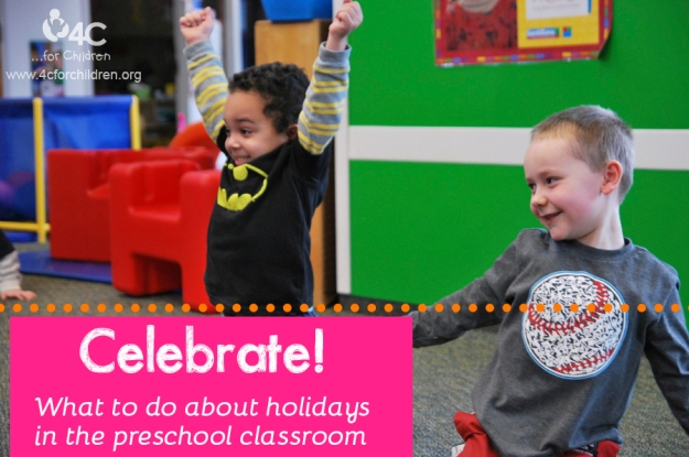 How do you incorporate holidays into your preschool classroom?